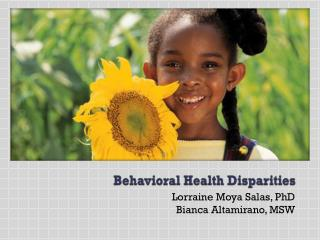 Behavioral Health Disparities