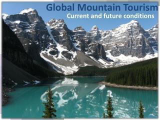 Global Mountain Tourism