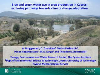 Blue and green water use in crop production in Cyprus; exploring pathways towards climate change adaptation