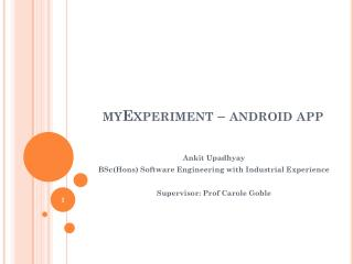 myExperiment – android app