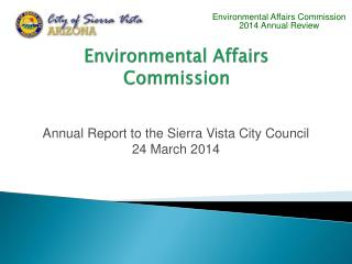Environmental Affairs Commission