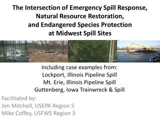 The Intersection of Emergency Spill Response, Natural Resource Restoration, and Endangered Species Protection at Midwes