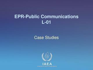 EPR-Public  Communications L-01