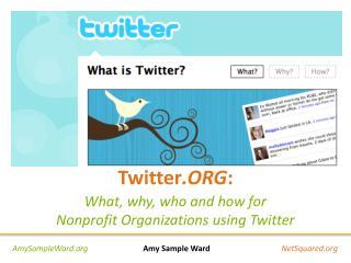 Twitter .ORG :