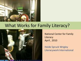 What Works for Family Literacy?