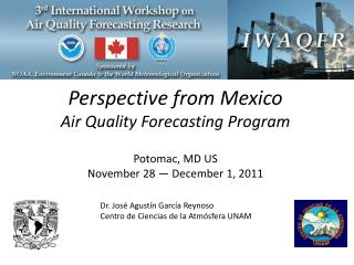 Perspective  from Mexico  Air Quality Forecasting Program