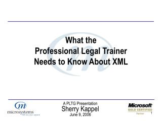 PLTG - What the Professional Legal Trainer Needs to Know ...