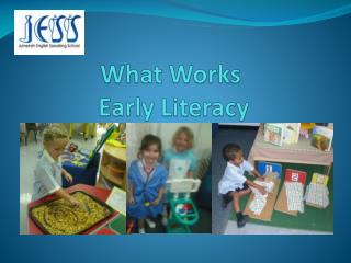 What Works   Early Literacy