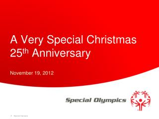 A Very Special Christmas 25 th  Anniversary