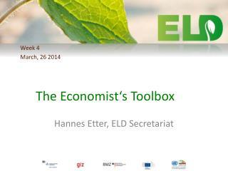 The Economist's Toolbox