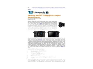 samsung nx200 – 20-megapixel compact system camera (photogra