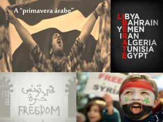 "A ""primavera árabe"""