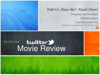 introducing Movie Review