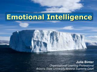 Julie  Binter Organizational Learning Professional Arizona State University/Arizona Supreme Cou rt