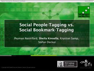 Social People-Tagging vs. Social Bookmark-Tagging