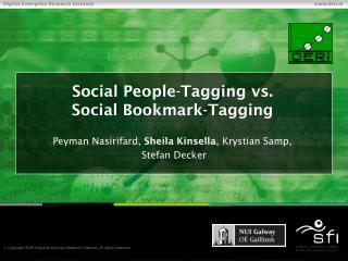 Social People-Tagging vs. Social Bookmark-Tagging