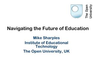 Navigating the Future of Education