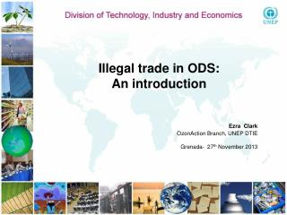 Illegal trade in ODS:  An introduction