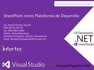 SharePoint como Plataforma de Desarrollo