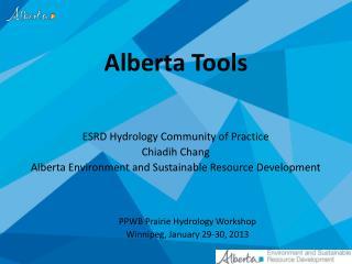 Alberta Tools