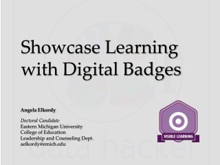 Showcase Learning with Digital Badges