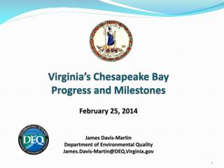 Chesapeake Bay Program History