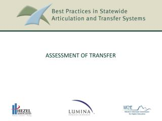 ASSESSMENT  of Transfer