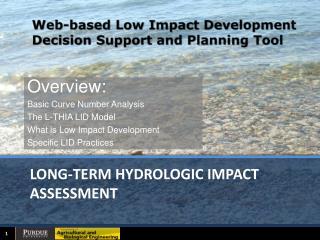 long-term hydrologic impact assessment