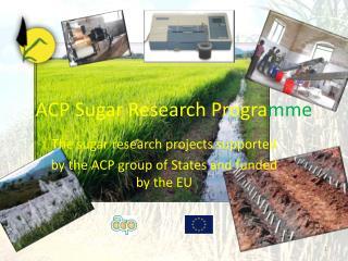 ACP Sugar Research Progra mme