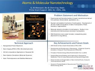 Atomic & Molecular Nanotechnology