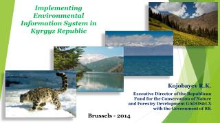 Implementing Environmental Information System in Kyrgyz Republic