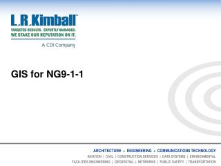 GIS for NG9-1-1