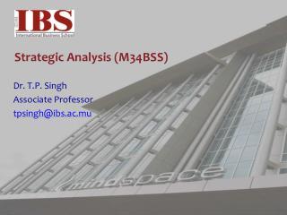 Strategic Analysis (M34BSS)