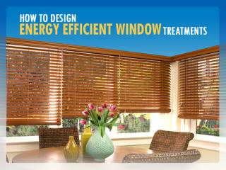 Get Insulated Window Shades and Save Energy