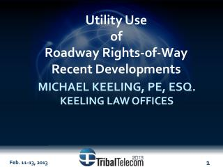 Michael Keeling, PE, Esq. Keeling Law offices