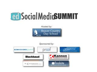 Strategic Marketing for Schools: Blending Web & Social Media Part 1.