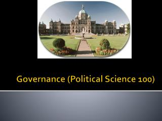 Governance (Political Science 100)