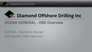 Diamond Offshore Drilling  Inc