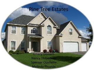 Pine Tree Estates