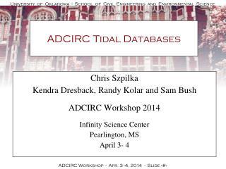 ADCIRC Tidal Databases