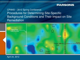 Procedures for Determining Site-Specific  Background Conditions and  Their  Impact on Site Remediation