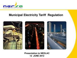 Municipal Electricity  Tariff  Regulation