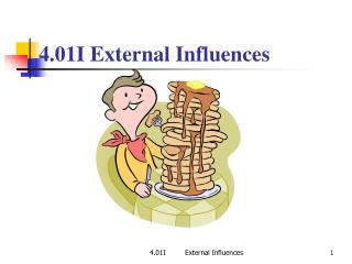 4.01I External Influences