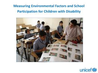 Measuring Environmental Factors and School Participation for Children with Disability