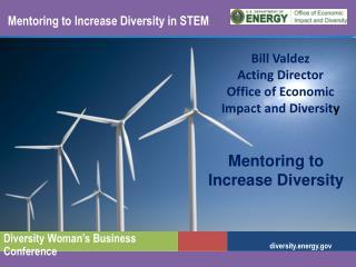 Mentoring to Increase Diversity in STEM