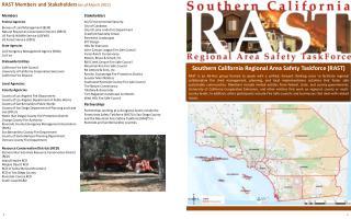 Southern California Regional Area Safety Taskforce (RAST)