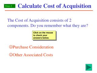 calculate cost of acquisition