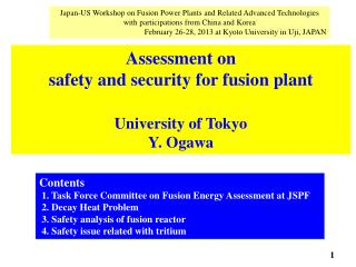 Japan-US  Workshop  on Fusion  Power Plants and Related Advanced Technologies  with  participations from China and Kore
