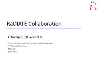 RaDIATE Collaboration