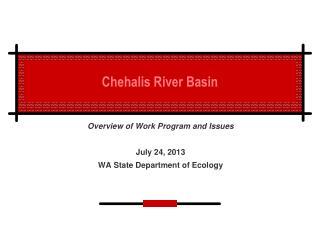Chehalis River Basin